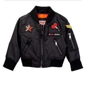Urban Republic NWT Black Bomber Jacket - Girls 16